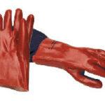 Luvas Ref. PVC em Vermelho
